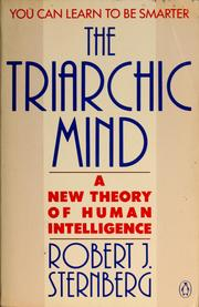 Cover of: The triarchic mind