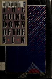 Cover of: The going down of the sun