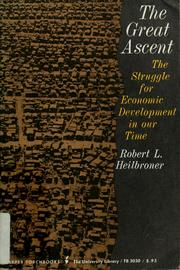 Cover of: The great ascent