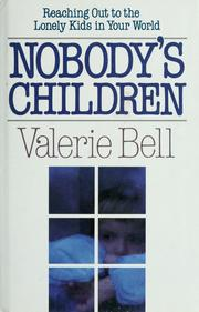 Cover of: Nobody's children