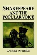 Cover of: Shakespeare and the popular voice