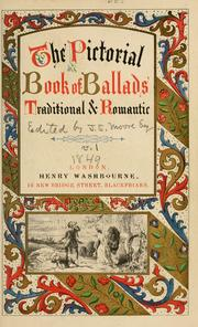 Cover of: The Pictorial book of ballads