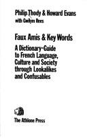 Cover of: Faux amis & key words