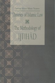 Cover of: Theories of Islamic law: the methodology of Ijtihād