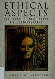 Cover of: Ethical aspects of information technology