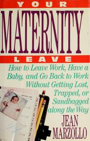 Cover of: Your Maternity Leave