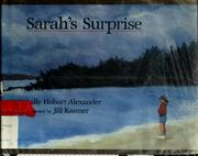 Cover of: Sarah's surprise