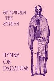 Cover of: Hymns on paradise