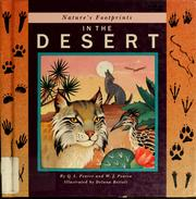 Cover of: Nature's footprints in the desert