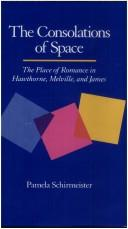 Cover of: The consolations of space