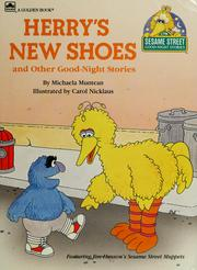 Cover of: Herry's new shoes and other good-night stories