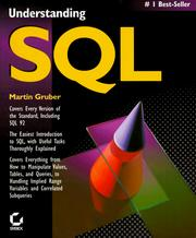 Cover of: Understanding SQL