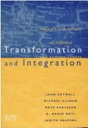 Cover of: Transformation and Integration