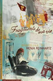 Cover of: Fragments de ma vie