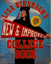Cover of: New and improved college book