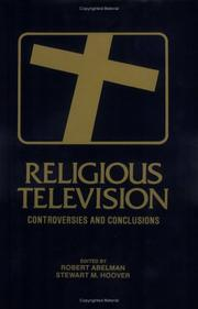 Cover of: Religious television