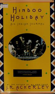 Cover of: Hindoo holiday