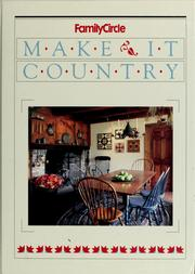 Cover of: Make it country