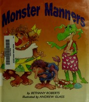 Cover of: Monster Manners