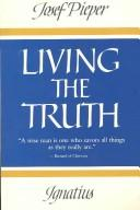 Cover of: Living the truth