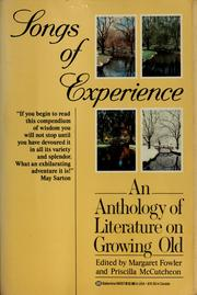 Cover of: Songs of experience
