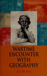 Cover of: Wartime encounter with geography