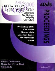Cover of: ASIS 2000