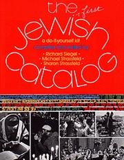 Cover of: The first Jewish catalog: a do-it-yourself kit
