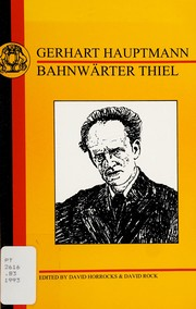 Cover of: Bahnwärter Thiel