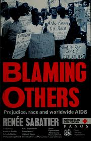 Cover of: Blaming others