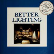 Cover of: Better lighting