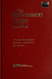 Cover of: The Persuasion Edge