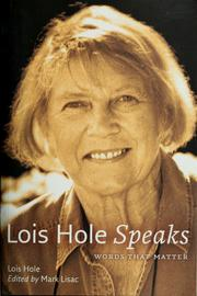 Cover of: Lois Hole speaks