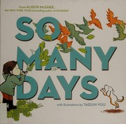 Cover of: So many days