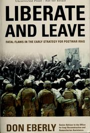 Cover of: The embattled early days of postwar Iraq