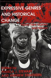 Cover of: Expressive genres and historical change