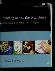 Cover of: Reading across the disciplines