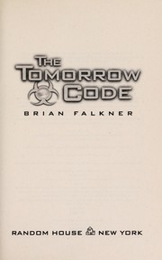Cover of: The tomorrow code