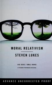 Cover of: Moral relativism