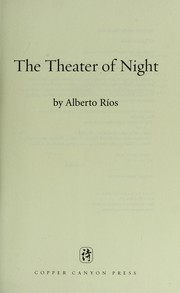 Cover of: The theater of night