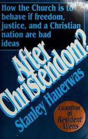 Cover of: After Christendom?