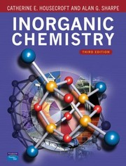 Cover of: Housecroft inorganic chemistry