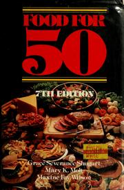 Cover of: Food for fifty