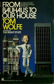 Cover of: From Bauhaus to our house