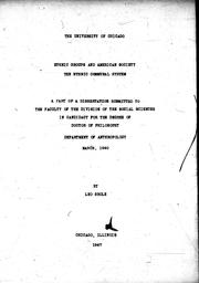 Cover of: Ethnic groups and American society