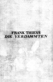 Cover of: Die Verdammten