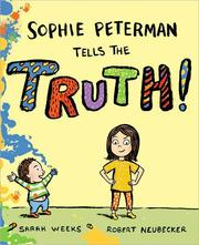 Cover of: Sophie Peterman tells the truth