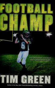 Cover of: Football champ: A Football Genius Novel