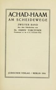 Cover of: Am Scheidewege