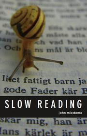 Cover of: Slow reading